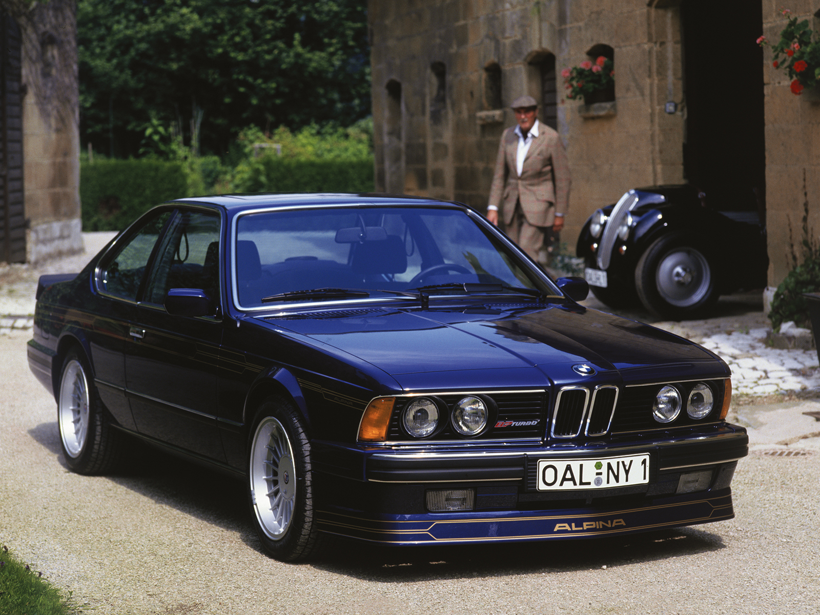 Bmw 6 Series E24 on bmw 3 series engine