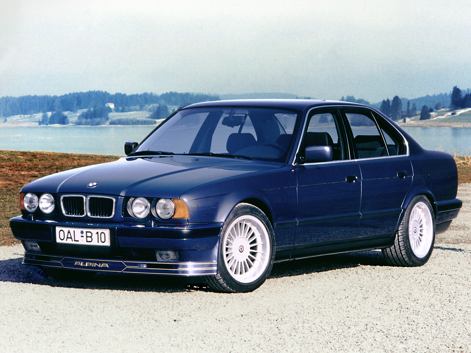 BMW 5 Series E34: ALPINA Automobiles