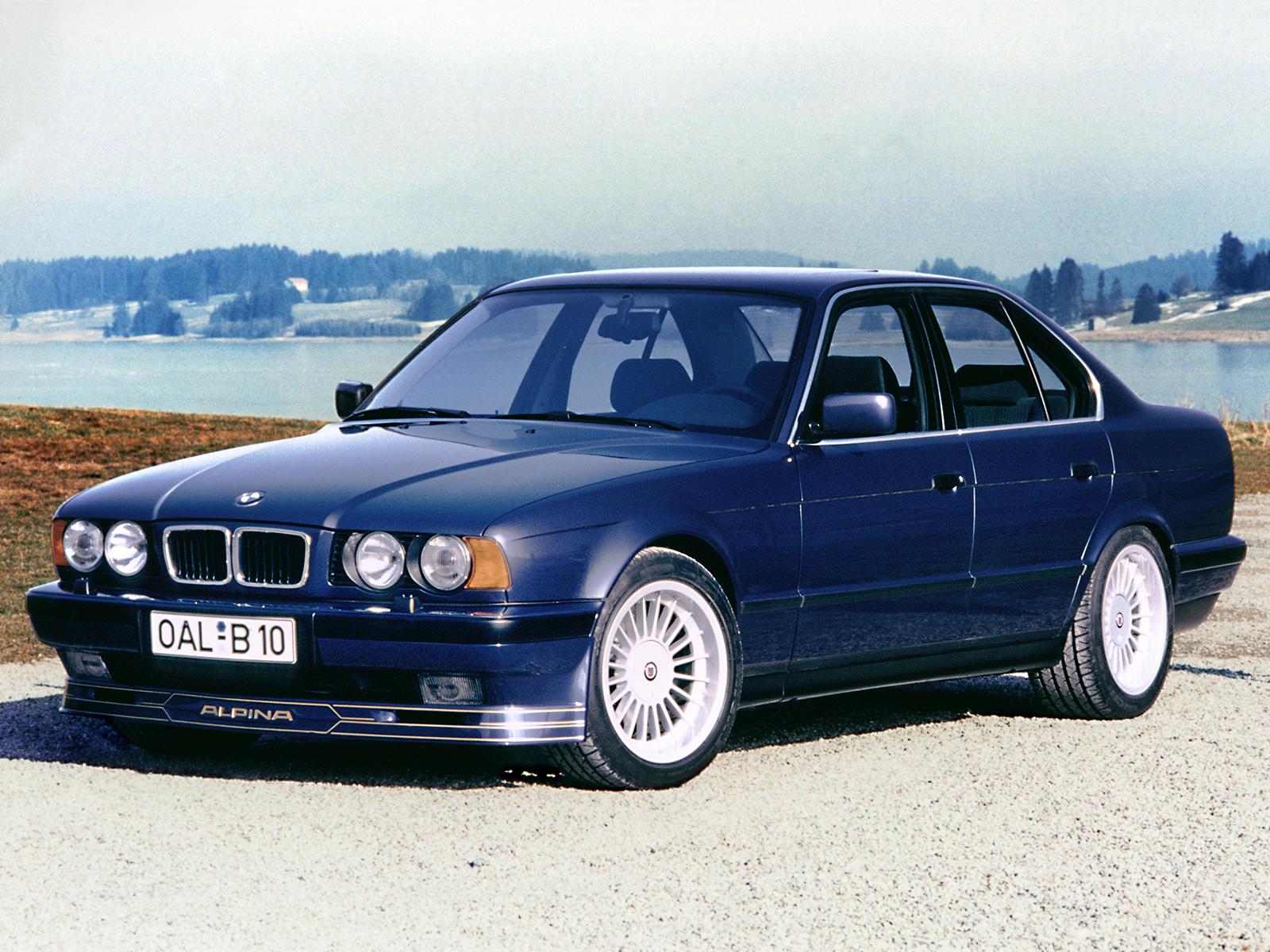 Bmw 5 Series E34 Alpina Automobiles