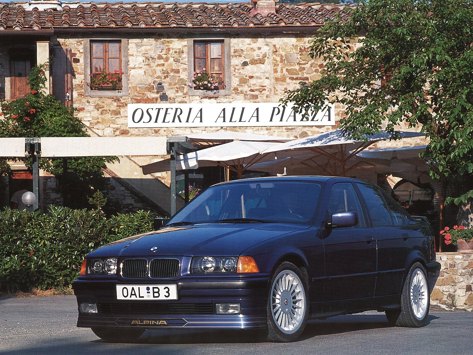 BMW Alpina B6 >> BMW 3er E36: ALPINA Automobiles
