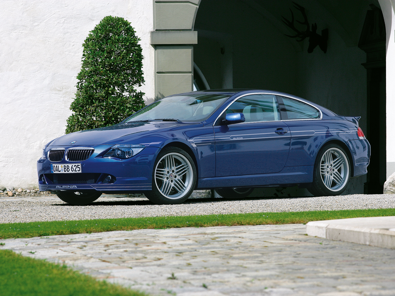 BMW Series E ALPINA Automobiles - Alpina bmw b6