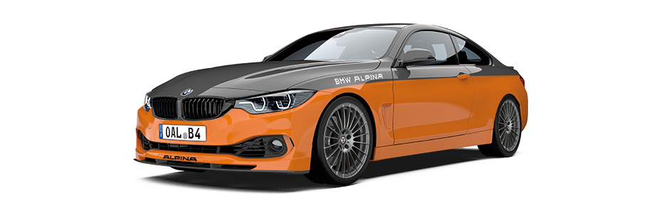 Hereby Selected Body Panels Are Finished In Anthracite Automotive Wrap To Create A Standalone Two Tone Colour Design Supplemented By Ferric Grey 20 ALPINA